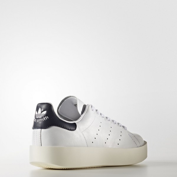 adidas Femme Originals Stan Smith Bold (BA7770) - blanc/Core Noir/Collegiate Navy