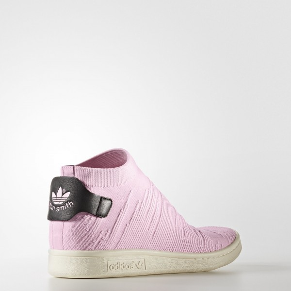 adidas Femme Originals Stan Smith Shock Primeknit (BY9250) - Wonder Rose /Wonder Rose /Core Noir