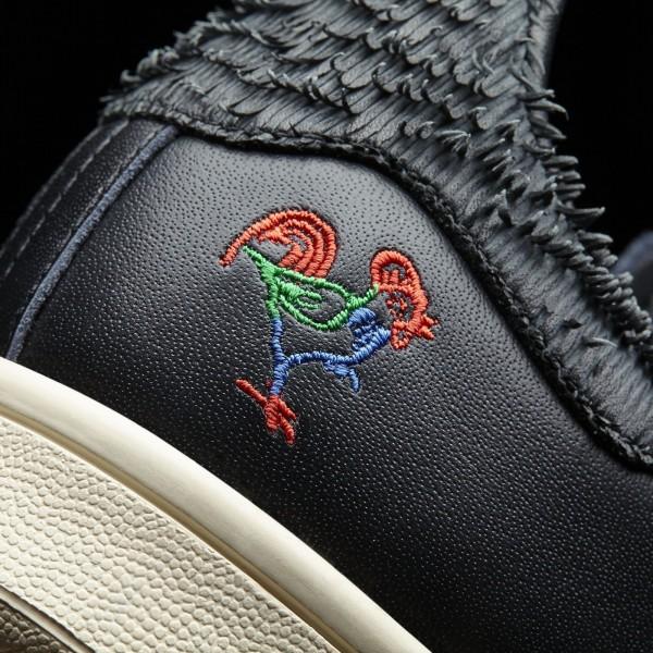 adidas Originals Stan Smith CNY (BA7779) - Core Noir/Chalk blanc -Unisex