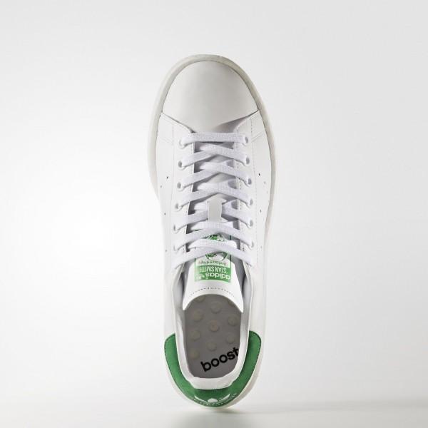 adidas Originals Stan Smith Boost (BB0008) - Footwear blanc/vert -Unisex