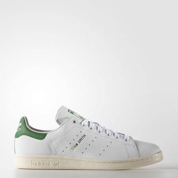 adidas Originals Stan Smith (S75074) - Footwear blanc/vert -Unisex