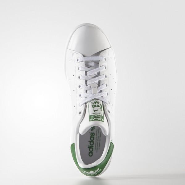 adidas Originals Stan Smith (M20324) - Footwear blanc/Core blanc/vert -Unisex