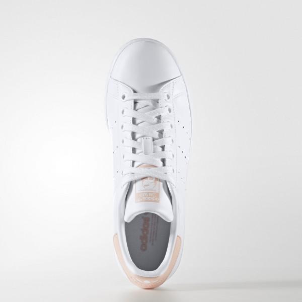 adidas Femme Originals STAN SMITH W(AQ0372) - Footwear blanc/Vapour Rose