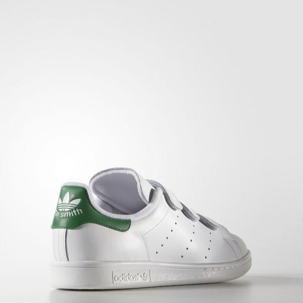 adidas Originals Stan Smith (S75187) - Footwear blanc/vert -Unisex