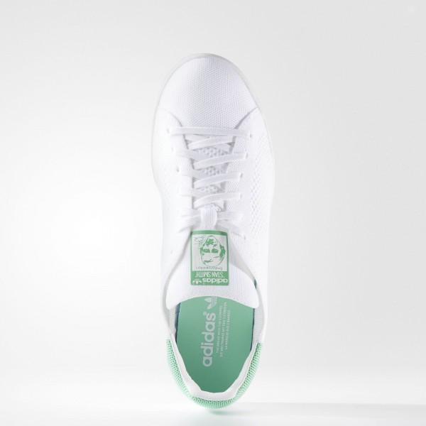 adidas Originals Stan Smith Primeknit (BZ0116) - Footwear blanc/Footwear blanc/vert Glow -Unisex