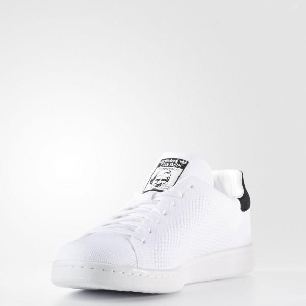 adidas Originals Stan Smith Primeknit (BZ0117) - Footwear blanc/Core Noir -Unisex