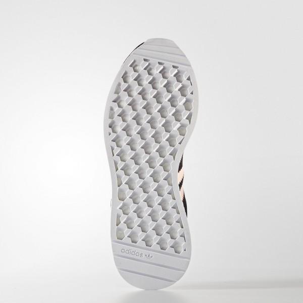 adidas Femme Originals Iniki Runner (BB0000) - Core Noir/Haze Coral/Footwear blanc