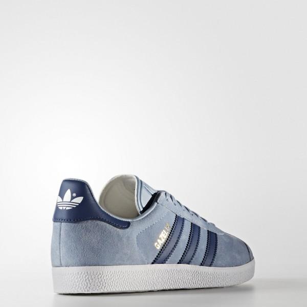 adidas Femme Originals Gazelle (BA7657) - Tactile Bleu/Mystery Bleu/Footwear blanc