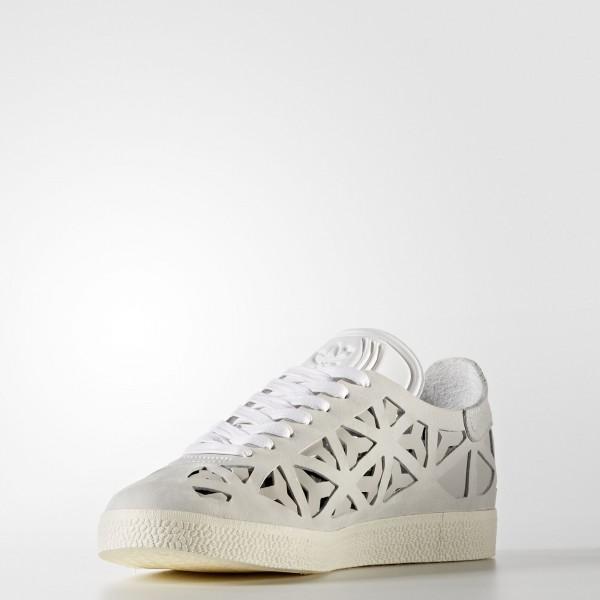 adidas Femme Originals Gazelle Cutout (BB5179) - Footwear blanc/Cream blanc