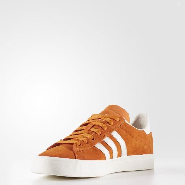 adidas Homme Originals Campus Vulc ADV 2.0 (BB8524) - Tactile Orange/Chalk blanc