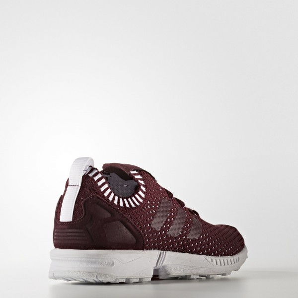 adidas Femme Originals ZX Flux (BA7143) - Maroon/Footwear blanc