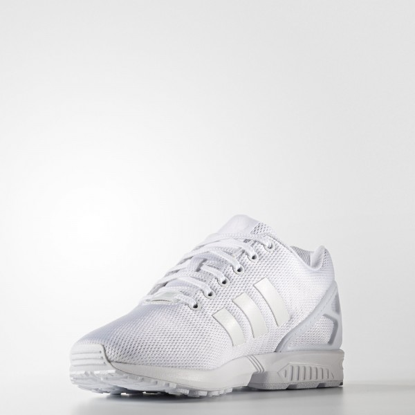 adidas Originals ZX Flux (S32277) - Footwear blanc/Clear gris -Unisex