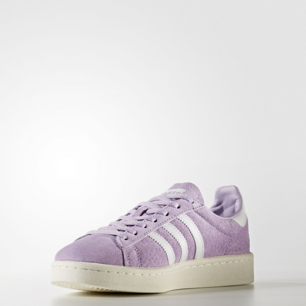 adidas Femme Originals Campus (BY9848) - Violet Glow /Footwear blanc/Chalk blanc