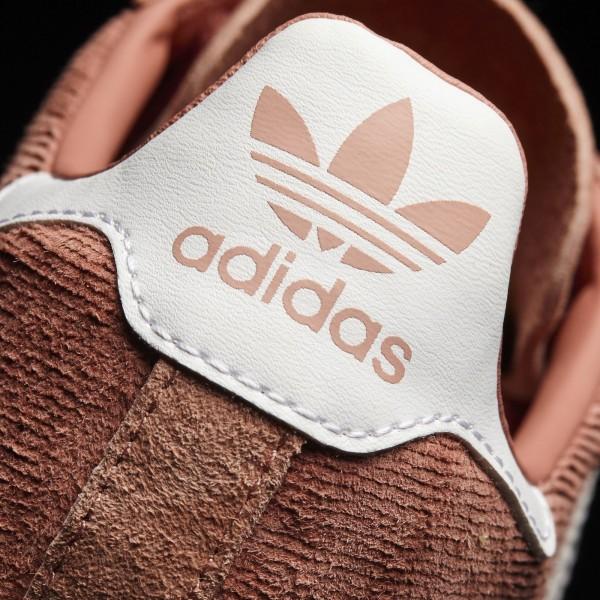 adidas Femme Originals Campus (BY9841) - Raw Rose /Footwear blanc/Chalk blanc