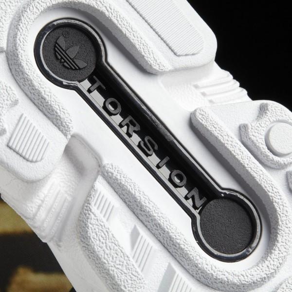 adidas Femme Originals ZX Flux (S77310) - Core Noir/Core Noir/blanc