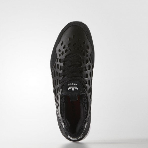 adidas Femme Originals ZX Flux Lace (S81320) - Core Noir/Core Noir/blanc