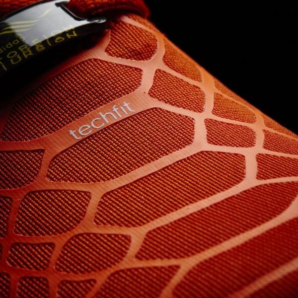adidas Homme Originals ZX Flux Techfit (S75489) - Collegiate Orange/Solar Orange/blanc