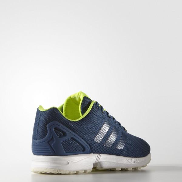 adidas Originals ZX Flux (S79101) - Shadow Bleu/Solar Jaune/Halo -Unisex