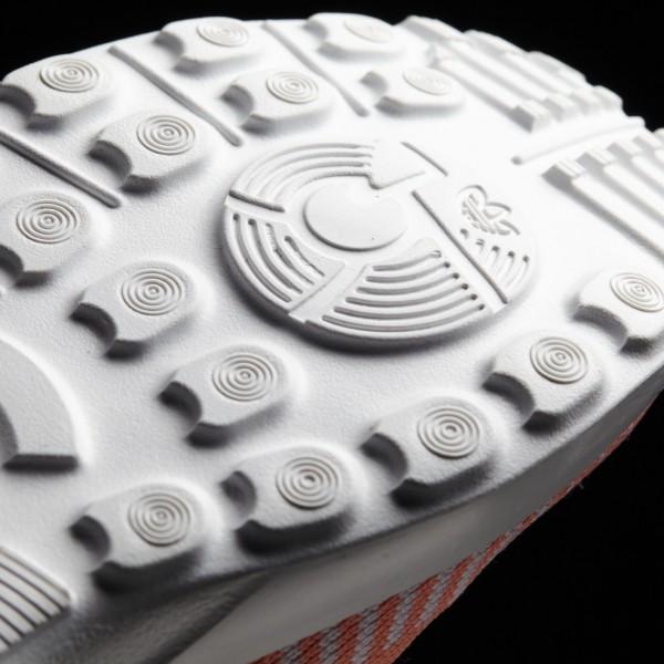adidas Femme Originals ZX Flux ADV Virtue Primeknit (BB2308) - Sun Glow/Footwear blanc