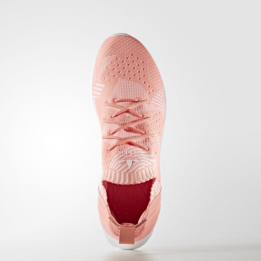 nouveaux styles 282ae a0665 baskets adidas ZX Flux ADV Virtue Primeknit   BB2308   Rose