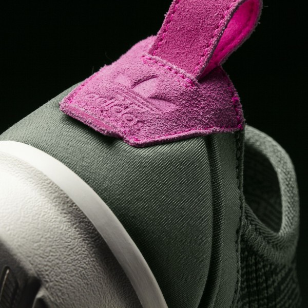 adidas Femme Originals ZX Flux ADV Virtue (BB2316) - Olive Cargo/Core Noir/Shock Rose