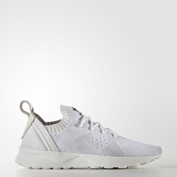 adidas Femme Originals ZX Flux ADV Virtue Primeknit (BB2306) - Footwear blanc/Clear gris/Core Noir