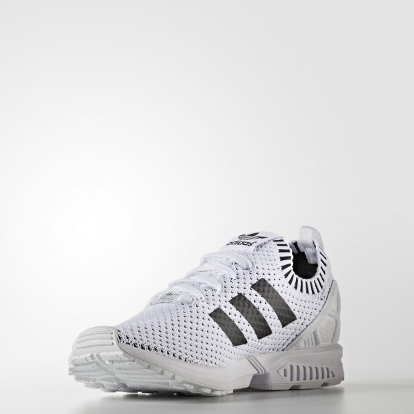 adidas Originals ZX Flux Primeknit (BA7374) - Footwear blanc/Core Noir -Unisex