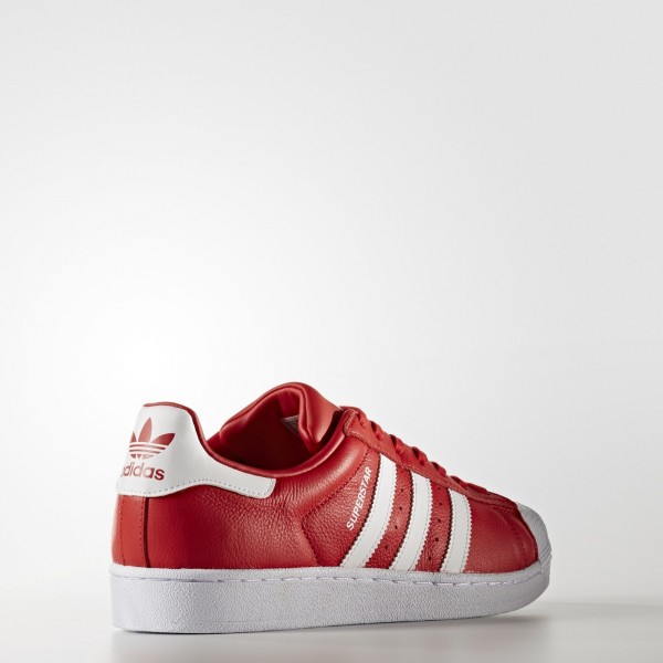 adidas Originals Superstar Foundation (BB2240) - rouge/Footwear blanc -Unisex