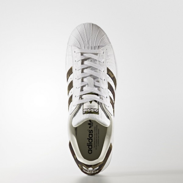 adidas Originals Superstar Foundation (BB2775) - Footwear blanc/Core Noir/Off blanc -Unisex