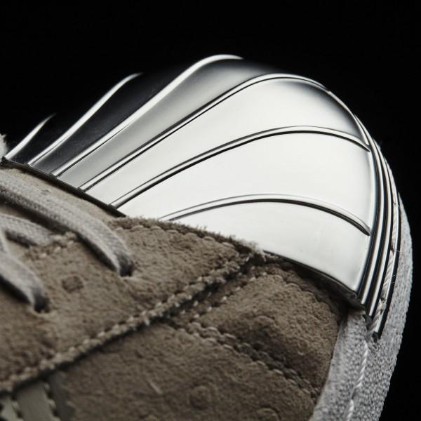 adidas Femme Originals Superstar 80s (S76711) - Clear gris/Clear gris/Metallic argent-Sld