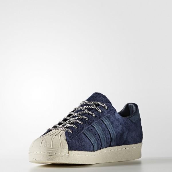 adidas Originals Superstar 80s (S76639) - Collegiate Navy/Mineral Bleu/Halo Bleu -Unisex