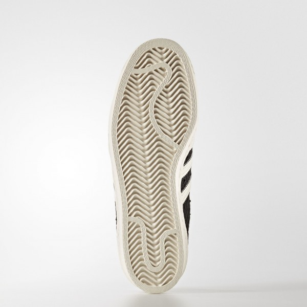 adidas Femme Originals Superstar 80s (S76411) - Utility Noir/Off blanc/Off blanc