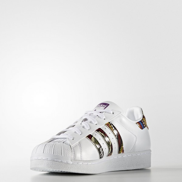 adidas Femme Originals Superstar (BB0686) - blanc/ blanc/Mid Grape