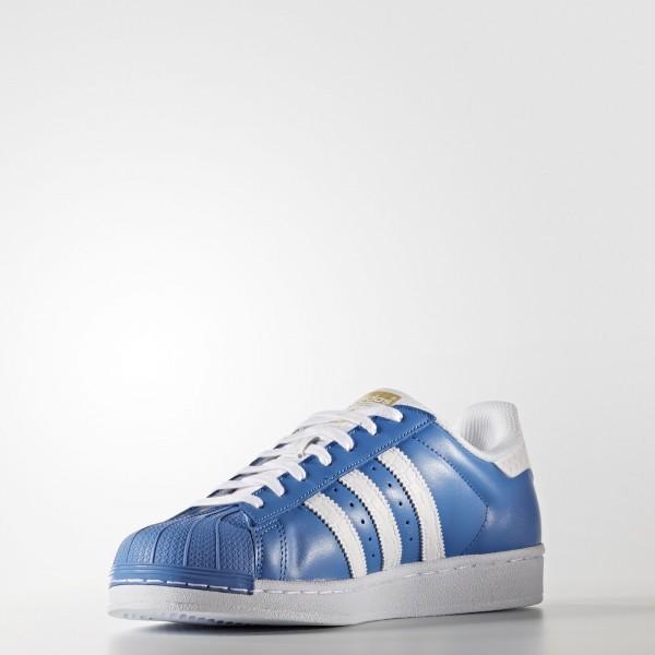 adidas Originals Superstar (S75881) - Ray Bleu/Dgh Solid gris/blanc -Unisex