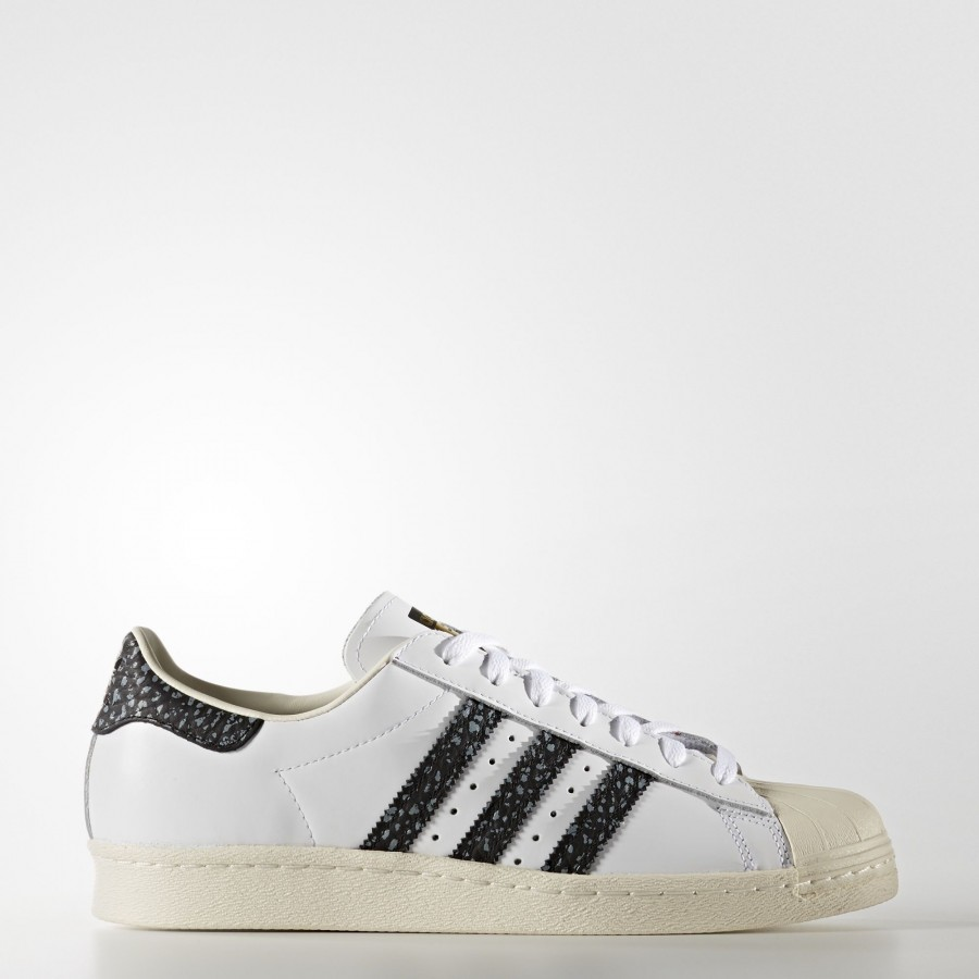 adidas Superstar 80s | pour Unisex | blancVapour vertOff