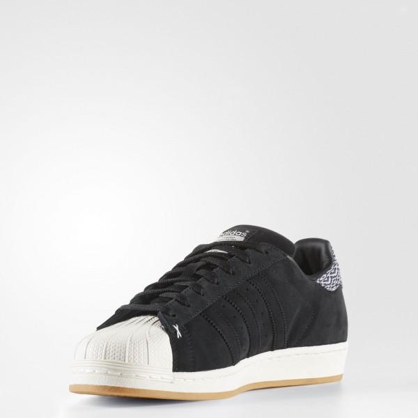 adidas Originals Superstar (B27737) - Core Noir/Core Noir/Off blanc -Unisex