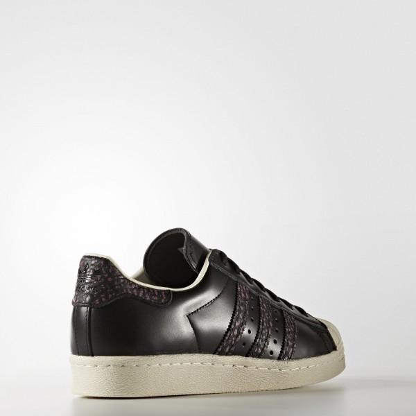 adidas Originals Superstar 80s (S75846) - Core Noir/Craft Rose/Off blanc -Unisex