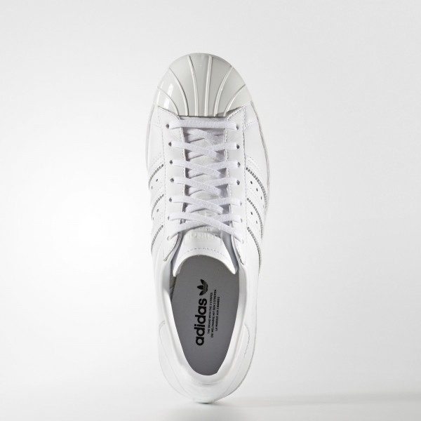 adidas Femme Originals Superstar 80s (S76540) - blanc/ blanc/Core Noir