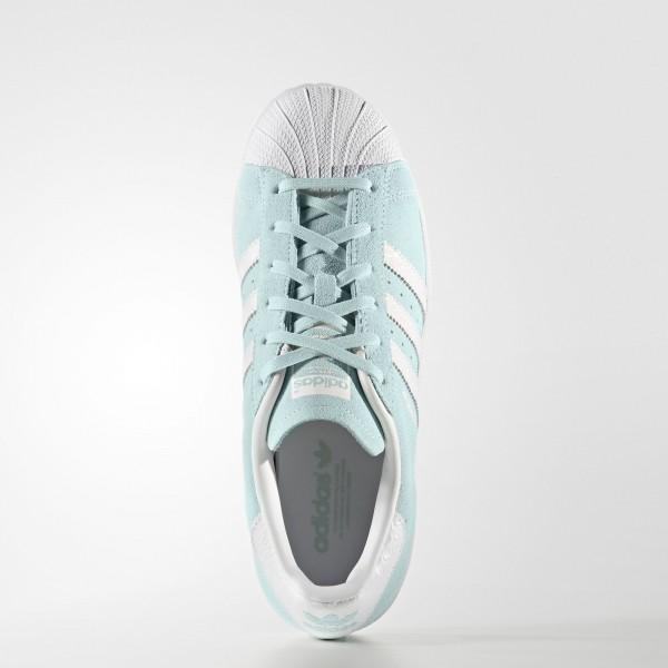 adidas Femme Originals Superstar (S76154) - Ice Mint/ blanc/ blanc