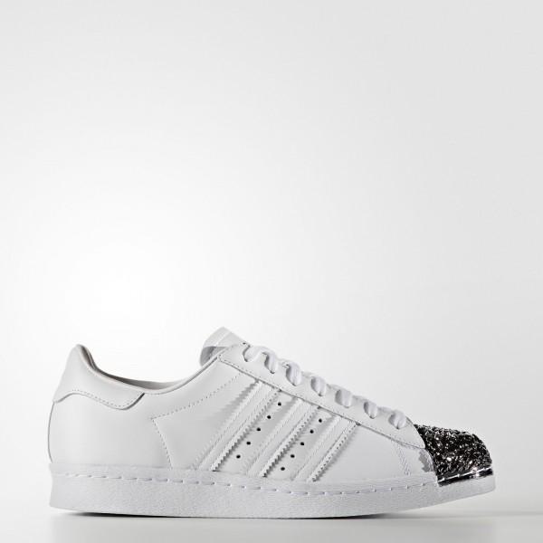 adidas Femme Originals Superstar 80s (S76532) - blanc/ blanc/Core Noir