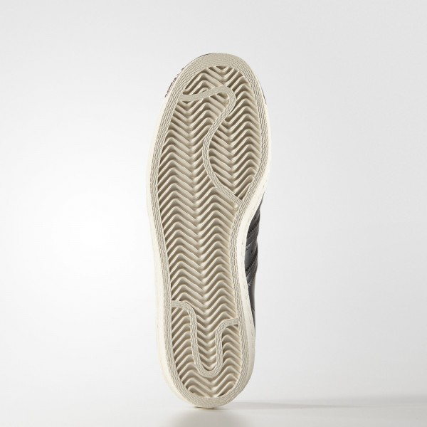 adidas Femme Originals Superstar 80s (S76535) - Core Noir/Core Noir/Copper Met