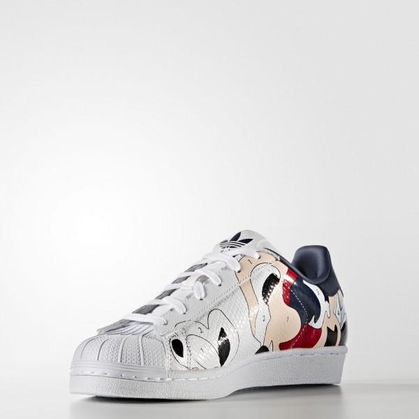 adidas Femme Originals Rita Ora Superstar (S80289) - blanc/ blanc/Night Indigo