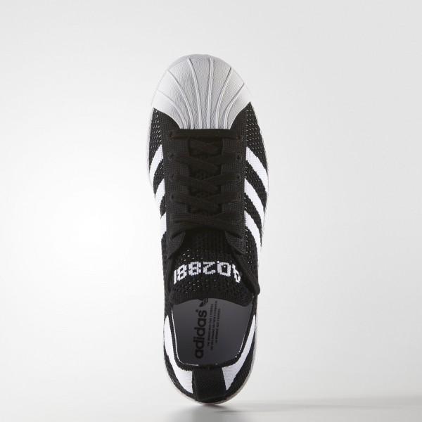 adidas Femme Originals Superstar 80s Primeknit (AQ2881) - Core Noir/blanc