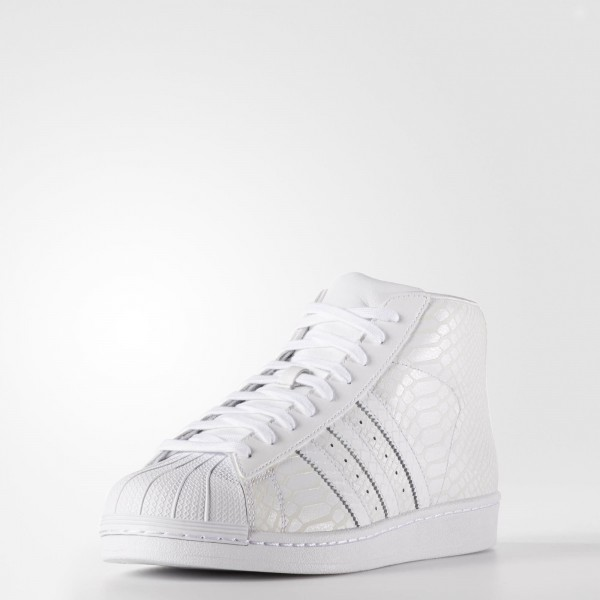 adidas Originals Pro Model (D69287) - blanc/ blanc/ blanc -Unisex