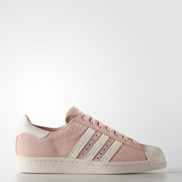 adidas Femme Originals Superstar 80s (S75059) - Blush Rose/Off blanc/Blush Rose