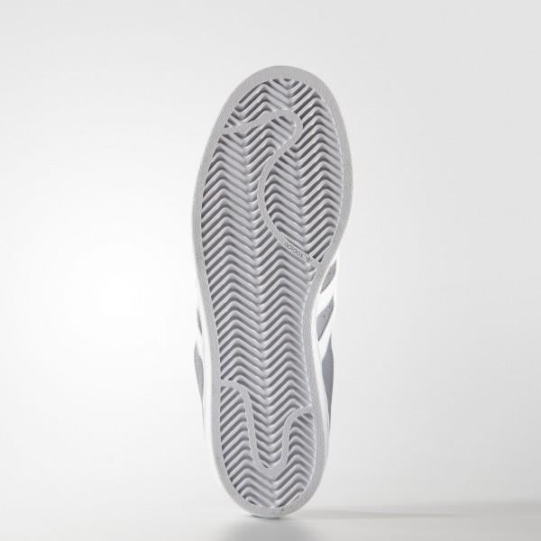 adidas Femme Originals Superstar (S75130) - gris/blanc/gris