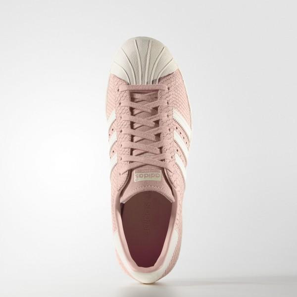 adidas Femme Originals Superstar 80s (S75059) - Blush Rose/Off blanc/Blush Rose