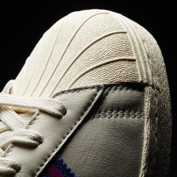 adidas Originals Superstar 80s (AQ3073) - Chalk blanc/Rose/Cream blanc -Unisex