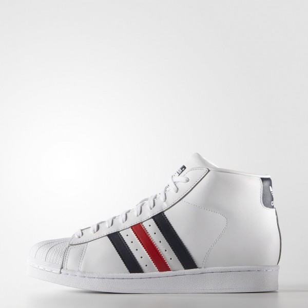 adidas Originals Pro Model (AQ5216) - blanc/Colleg...