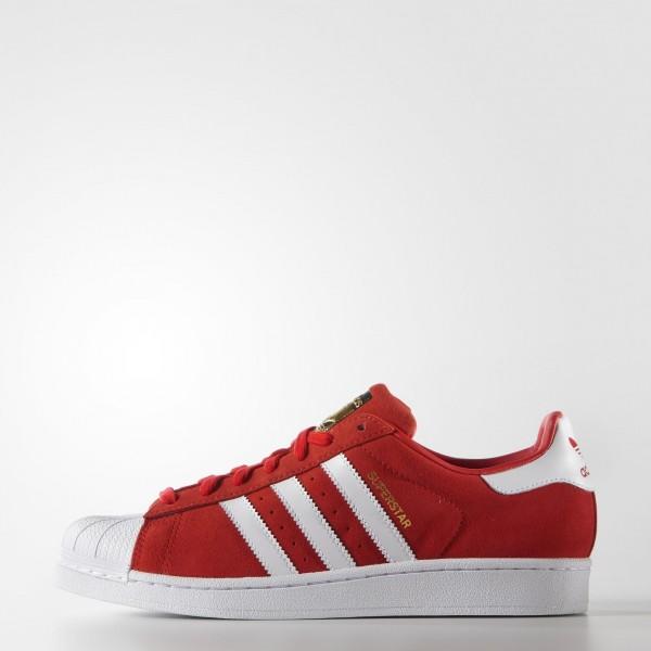 adidas Homme Originals Superstar Suede (S75140) - ...